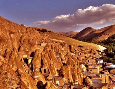 Kandovan village with incredible rocky houses