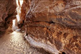 Morteza Ali canyon in Tabas